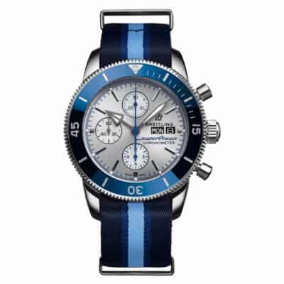 Montre-Breitling-Superocean-Héritage-II-chronographe44-ocean-conservancy-A133131A1G1W1-Lionel-Meylan-horlogerie-joaillerie-Vevey