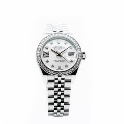 Montre-occasion-Rolex-datejust-28-279384RBR-Lionel-Meylan-horlogerie-joaillerie-Vevey